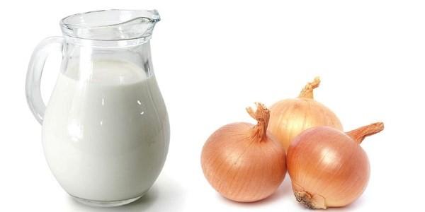 Молоко с луком