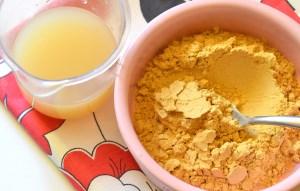 Лепешка от кашля на меду детям