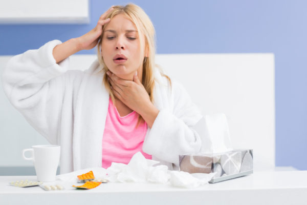 Лечение сухого кашля у взрослого