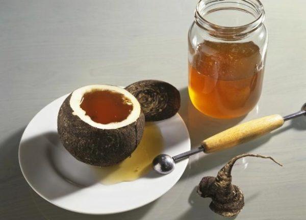 Рецепт редьки с медом от кашля ребенку