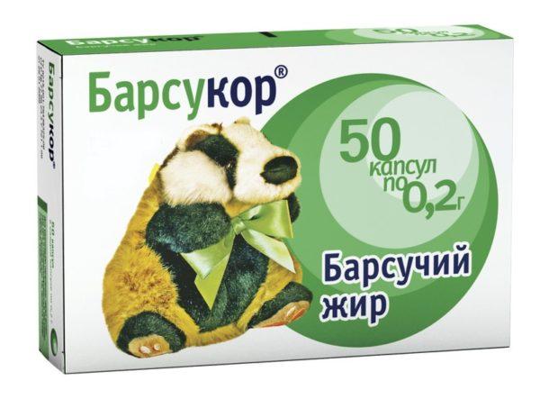 Барсучий жир, применение при кашле