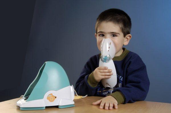 Ингаляции небулайзером при кашле у детей