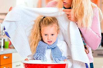 Способы и методы ингаляции при кашле у детей