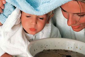 Ингаляция от кашля в домашних условиях