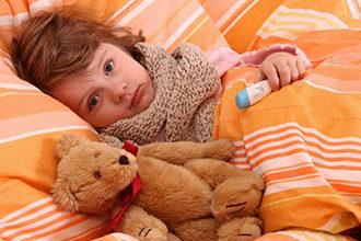 Лечение заболеваний горла у детей народными средствами